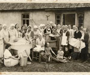 Veļas mazgāšanas kursi Patkulē, 1930. gadi
