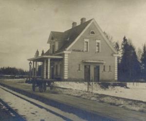 Visagala stacija 1930. gadu beigās