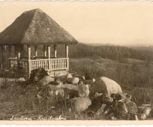 Ainava starp Mārcienu un Ļaudonu, 1930. gadu beigas