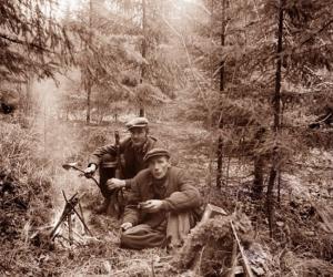 Mežabrāļi pēc Otrā pasaules kara Liezēres apkārtnē